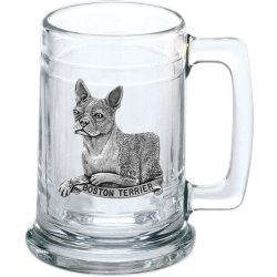 Boston Terrier Stein