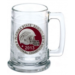 2013 BCS National Champions Florida State Seminoles Stein - Enameled