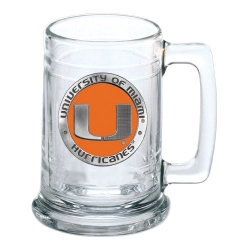 University of Miami Stein - Enameled