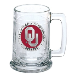 "University of Oklahoma ""OU"" Stein - Enameled"