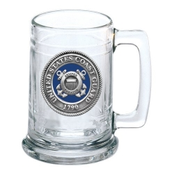 Coast Guard Stein - Enameled
