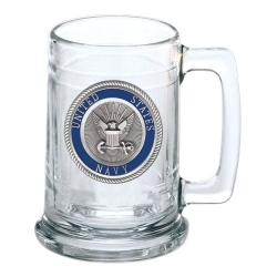 Navy Stein - Enameled