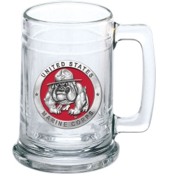 "Marine Corps ""Bulldogs"" Stein - Enameled"