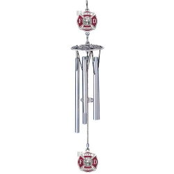 "Firefighter 16"" Wind Chime - Enameled"
