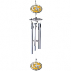 "Georgia Institute of Technology ""GT"" 16"" Wind Chime - Enameled"