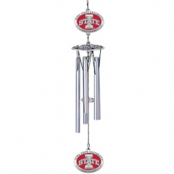 "Iowa State University ""I"" 16"" Wind Chime - Enameled"