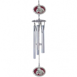 "Mississippi State University ""Bulldogs"" 16"" Wind Chime - Enameled"