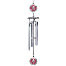 "Virginia Military Institute 16"" Wind Chime - Enameled"