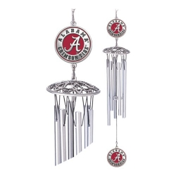 "Alabama ""A"" Crimson Tide 16"" Wind Chime - Enameled"