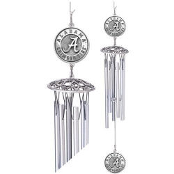 "Alabama ""A"" Crimson Tide 24"" Wind Chime"