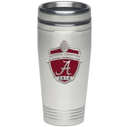2015 CFP National Champions Alabama Crimson Tide Thermal Travel Drink - Enameled