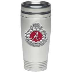 2012 BCS National Champions Alabama Crimson Tide Thermal Travel Drink - Enameled