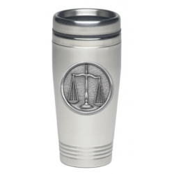 Law - Scales of Justice Thermal Drink