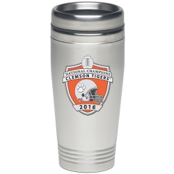2016 BCS National Champions Clemson Tigers Thermal Travel Drink - Enameled