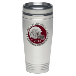 2013 BCS National Champions Florida State Seminoles Thermal Travel Drink - Enameled