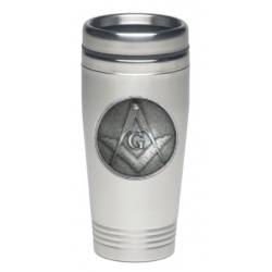 Masonic Square & Compass Thermal Drink