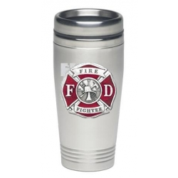 Firefighter Thermal Drink - Enameled