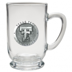Texas Tech University Clear Coffee Cup