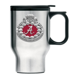 2012 BCS National Champions Alabama Crimson Tide Thermal Travel Mug - Enameled