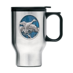 Pintail Duck Thermal Travel Mug - Enameled