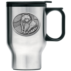 Racoon Thermal Travel Mug