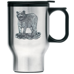 Tiger Thermal Travel Mug