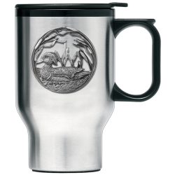 Wood Duck Thermal Travel Mug