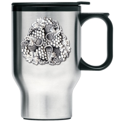 Grapes Thermal Travel Mug