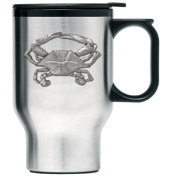 Blue Crab Thermal Travel Mug