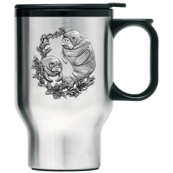 Manatee Thermal Travel Mug