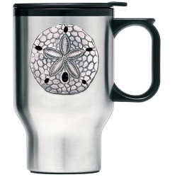 Sand Dollar Thermal Travel Mug