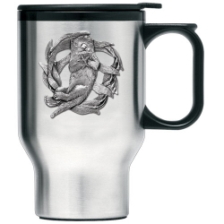 Sea Otter Thermal Travel Mug