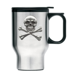 Skull & Bones Thermal Travel Mug