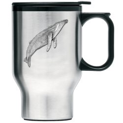 Humpback Whale Thermal Travel Mug