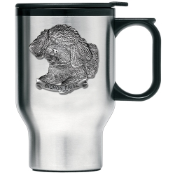 Bichon Frise Thermal Travel Mug