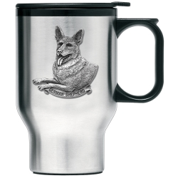 German Shepherd Thermal Travel Mug