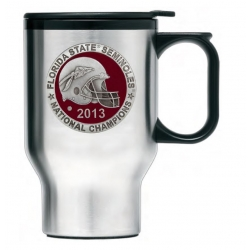 2013 BCS National Champions Florida State Seminoles Thermal Travel Mug - Enameled