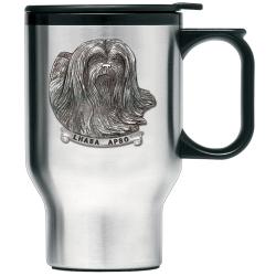 Lhasa Apso Thermal Travel Mug