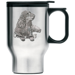 Springer Spaniel Thermal Travel Mug