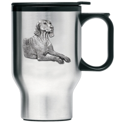 Weimaraner Thermal Travel Mug