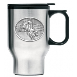 Bull Rider Thermal Travel Mug
