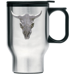 Longhorn Thermal Travel Mug