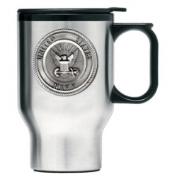 Navy Thermal Travel Mug