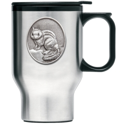 Chipmunk Thermal Travel Mug