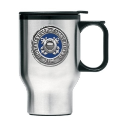 Coast Guard Thermal Travel Mug - Enameled