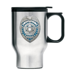 Law Enforcement Thermal Travel Mug - Enameled