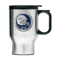 "2010 BCS National Champions Auburn University ""Tigers"" Thermal Travel Mug - Enameled"