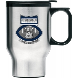 "2010 BCS National Champions Auburn University ""Tigers"" Thermal Travel Mug - Enameled - Football"