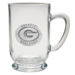 "University of Georgia ""G"" Clear Coffee Cup"