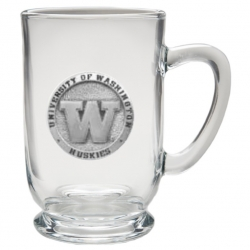University of Washington Clear Coffee Cup